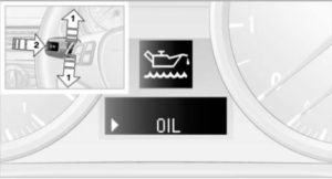 проверка уровня масла е90