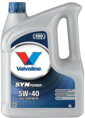 Valvoline SynPower 5-40