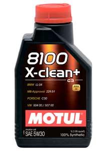 5W-30 MOTUL 8100 X-clean