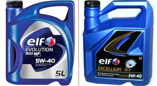 ELF 5W-40 EVOLUTION
