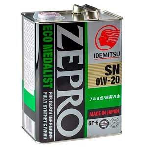 Idemitsu Eco-Medalist SN/GF-5 0W-20