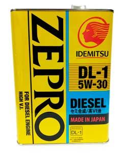 Idemitsu Zero Diesel DL-1 5W-30