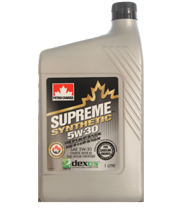 petro-canada supreme synthetic 5w-30