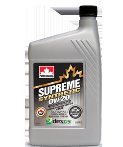 Petro-Canada Supreme Synthetic 0W-20