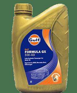 Gulf formula GX 5W-40
