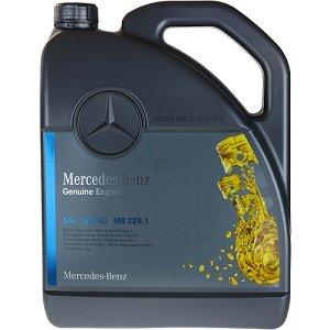 Mercedes Benz Genuine Engine Oil 10W40 MB229.1