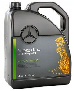 Mercedes Benz Genuine Engine Oil 5W30 MB229.51