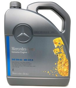 Mercedes Benz Genuine Engine Oil 5W40 MB229.5