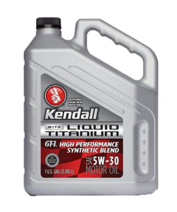 Kendall GT-1 High Performance Synthetic Titanium 5W-30