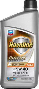 Chevron Havoline ProDS Full Synthetic 5W-40